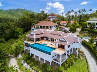 Villa E Luxury villa with swimming pool 4 bedroom, Koh Samui