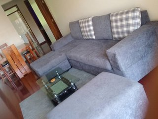 A spacious two bedroom fully serviced with free Wifi and DSTV available