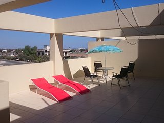 Top floor 1 Bedroom apartment with huge terrace and great view!!, Larnaka City