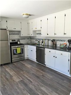 Renovated kitchen with new stainless appliances