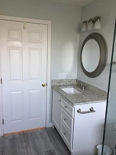 Newly remodeled bathroom in 2017