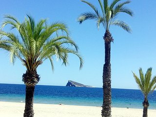 Benidorm-Poniente,Wifi free,TV Sat,Parking,Piscina,preciosas vistas,hasta 4 P
