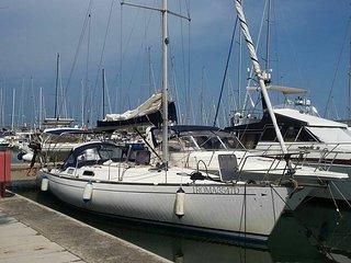 Barca a vela Morgana, Leuca