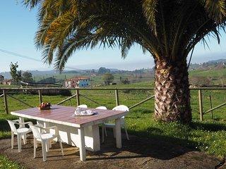 La Cabaña de Noriega, para 6 personas, cerca de la playa y senderismo.