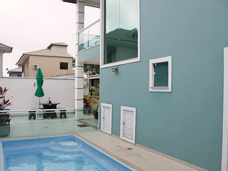 Double suite with pool and gourmet space, Cabo Frio