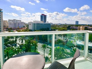 Tides Apartments in Hollywood Beach - A / City view 2 Beds - 2Baths