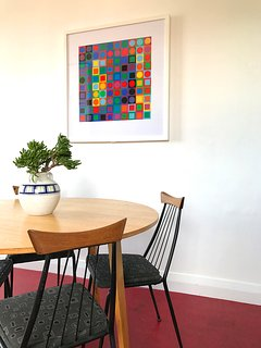 Dining Area...or a beautiful space to work! FREE wifi
