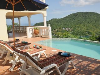 VILLA ISIS *Newly Built *Overlooks Marigot Bay