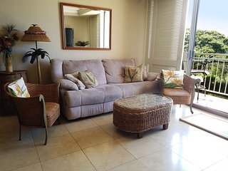 PSA303 Affordable Paradise! 2 Bd, 2 ba Across from Beach & Mountain /Ocean views, Wailea