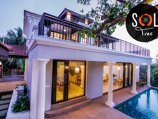 Sol de Tres - 3 Bed Private Pool Luxury Candolim Villa