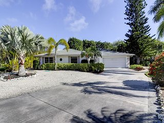 Chert Court: 3BR Pool Home Near Beach on Cul-de-sac in Quiet East Rocks, Île de Sanibel