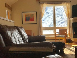 NEW! In-Town Telluride –True ski in, ski out Townhome !  2 Bd + loft/ 2.5 BA.