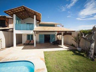 Casa maravilhosa frente mar em Caponga com piscina