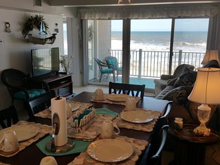 Oceanfront Condo Directly On Beach!