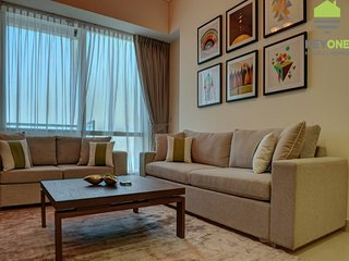 Furnished 3BR with Palm View - Ocean Heights, Dubai