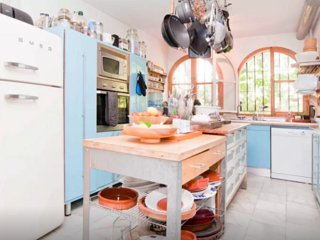 Large house with a bohemian touch, Mijas