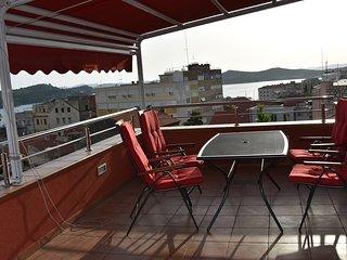 Central loft, city view