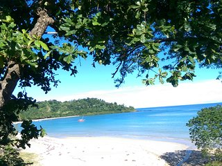 Bungalow à 2 pas de la plus belle plage de Nosy Be