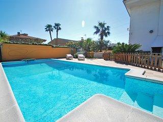 Villa para 10 personas con piscina privada, Calafell