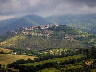 Sabine Hills by bike, Poggio Nativo