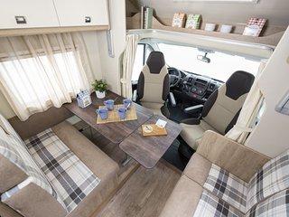Alquiler de AutoCaravanas a precio Low Cost con equipamiento Premium.