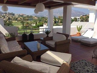 Luxury Frontline Golf Duplex Penthouse, Puerto Banús
