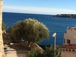 Le Penequet: Charmant, vue Mer au coeur du viel antibes sur les remparts, Clim