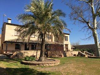 Casa del Molinero de Zuacorta.- Magnífica casa de campo con amplio jardín