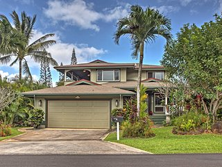 NEW! 4BR Princeville House Minutes to Hanalei Bay!