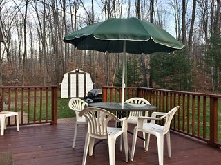 Gaylord Home w/ Fire Pit, Grill & Wooded Trails!