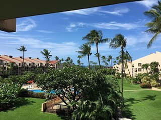 Kamaole Sands 5-313- Ocean and Garden Views! Across the Street from the Beach