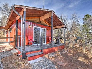 NEW! 2BR Manitou Springs Cabin near Recreation!