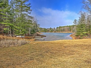 Lakefront 4BR Windham Area Home w/ Boat & Dock!