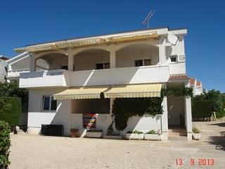 APPARTMENT A6  ON THE BEACH 4+2 PERSONS