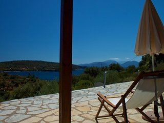 Apartment in villa with seaview, Vasiliki