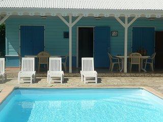 Bungalow de charme T4 avec piscine et proche de la plus jolie plage