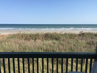 Book now for Fall! Panoramic Views - updated Ocean Front Corner Condo on OIB