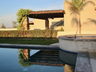 Relax and enjoy your heated private pool