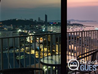Best Sea View Unit 2 at The Base Pattaya in Central Pattaya