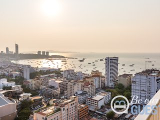 Best Sea View Unit at The Base Pattaya in Central Pattaya