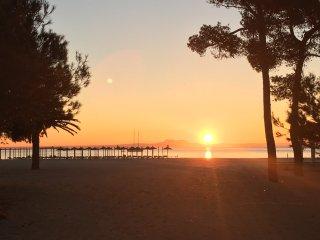 Expectaculares vistas en primera  línea de playa, Palmanova