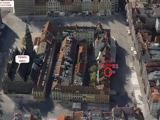 Location in The Old Town Main Square