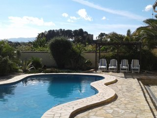 Rural Villa with private pool in Ontinyent, near to Costa del Azahar/ Valencia
