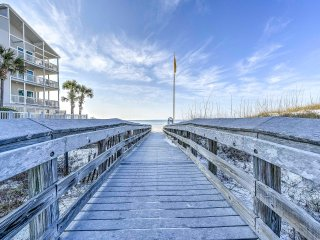 New! 2BR Santa Rosa Beach Condo Steps From Ocean!