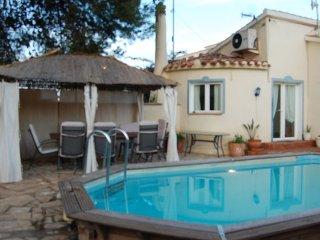casa con piscina privado en playa, Denia