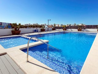 Ground floor 2 bed Luxury apartment with WiFi in Los Altos del Mediterraneo