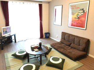 2mins to Oshiage Station. Newly built apartment. Skytree in front, Free Wifi !