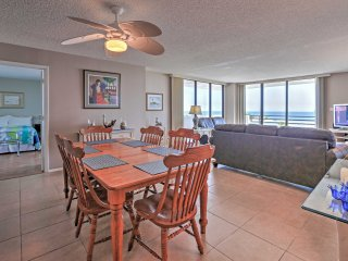 Oceanview Daytona Beach Condo w/Deck & Amenities!