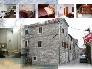 Apartment Antonio - fell like a native in idilic stone house, Kastel Kambelovac
