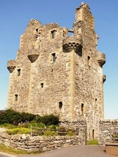 Scalloway Castle.  Only 8 miles from Brekka Lodge.